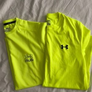 Gently used Under Armor tees